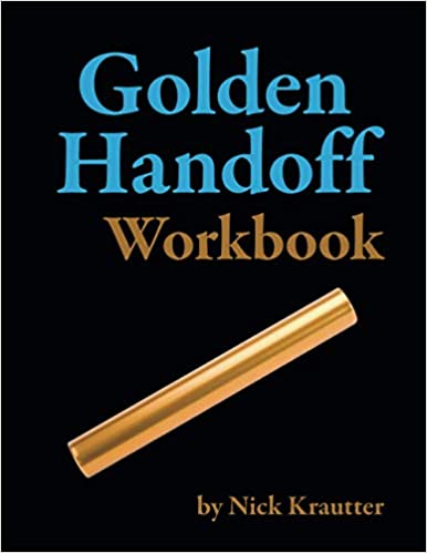 Golden Handoff Workbook Now Available on Amazon